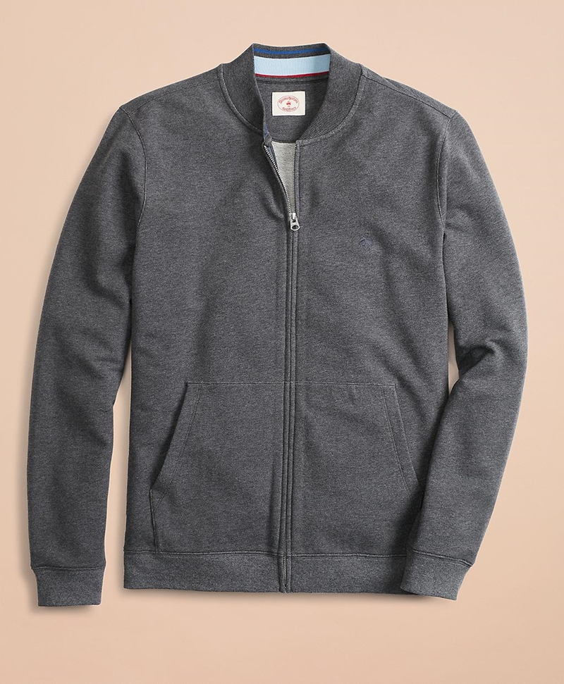 French Terry Full-Zip Jacket 썸네일 이미지 2