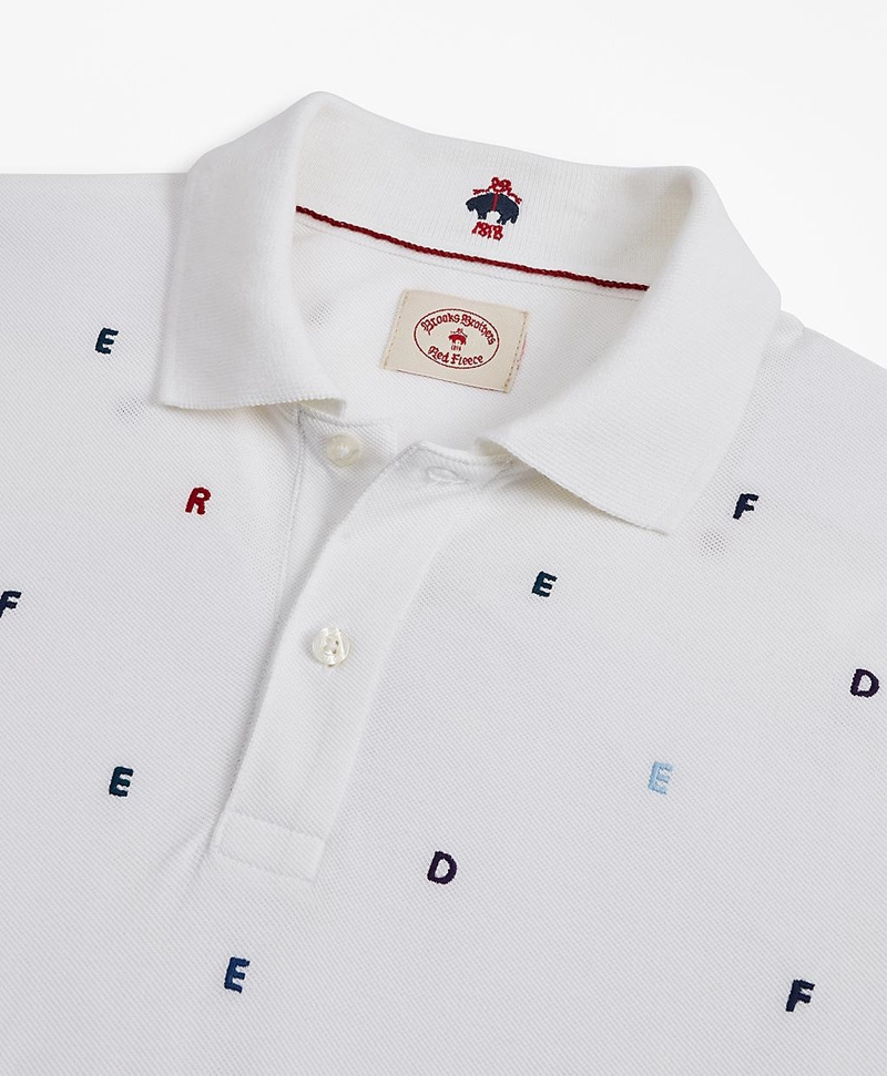 Embroidered Polo Shirt 썸네일 이미지 2