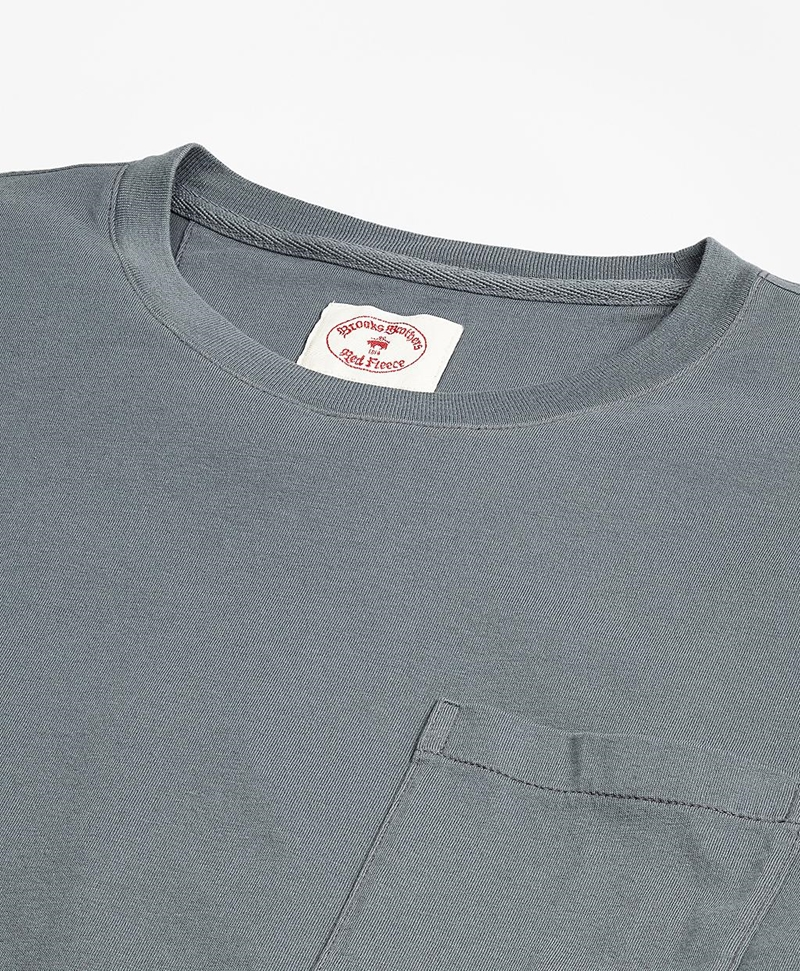 Garment-Dyed T-Shirt 썸네일 이미지 2