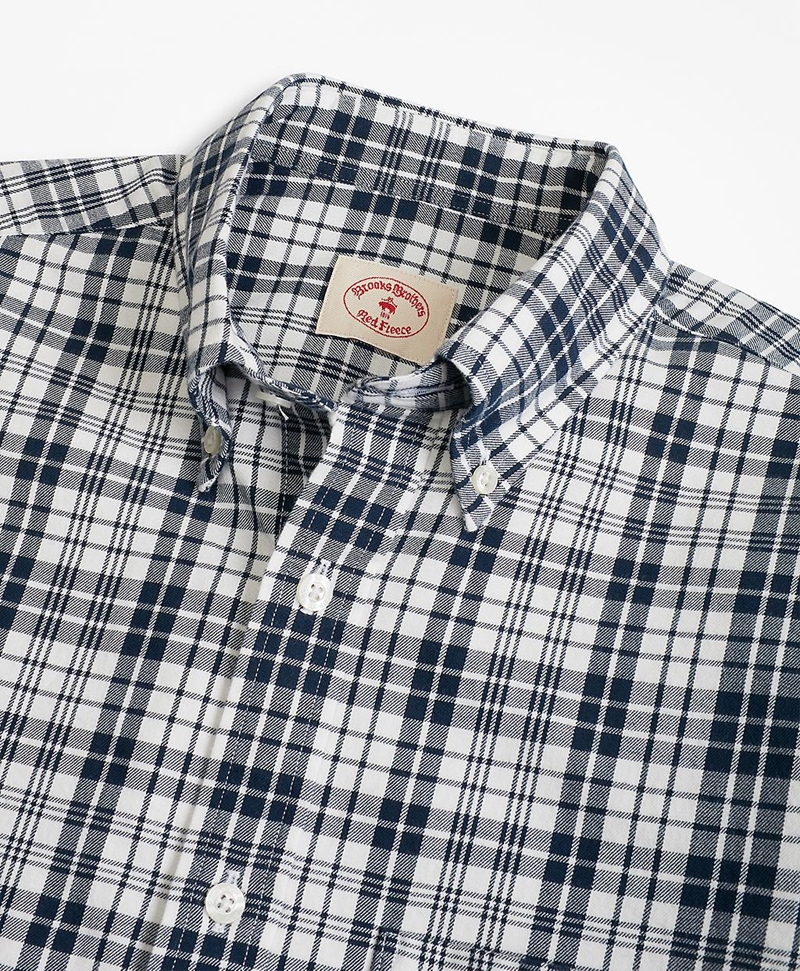 Tartan Cotton Flannel Sport Shirt 썸네일 이미지 2