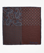 Patchwork Flannel Pocket Square 썸네일 이미지 3