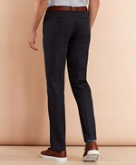 Stretch Cotton Twill Trousers 썸네일 이미지 3