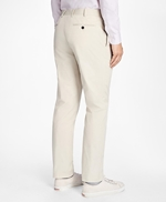 Slim-Fit Cotton Suit Trousers 썸네일 이미지 3