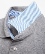 Slim Fit Heathered Polo Shirt 썸네일 이미지 3