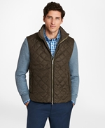 Diamond Quilted Vest 썸네일 이미지 3