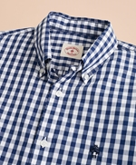 Gingham Broadcloth Sport Shirt 썸네일 이미지 3
