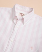 Wide-Stripe Cotton Oxford Sport Shirt 썸네일 이미지 3