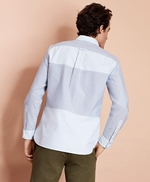 Patchwork Oxford Sport Shirt 썸네일 이미지 3