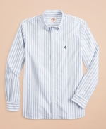 Striped Cotton Oxford Sport Shirt 썸네일 이미지 3