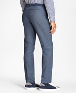 Slim-Fit Stretch-Cotton End-On-End Pants 썸네일 이미지 3
