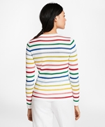 Shimmer-Stripe Sweater 썸네일 이미지 3