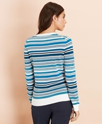 Striped Cotton Sweater 썸네일 이미지 3