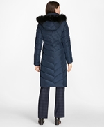 Fur-Trimmed Down Puffer Coat 썸네일 이미지 3