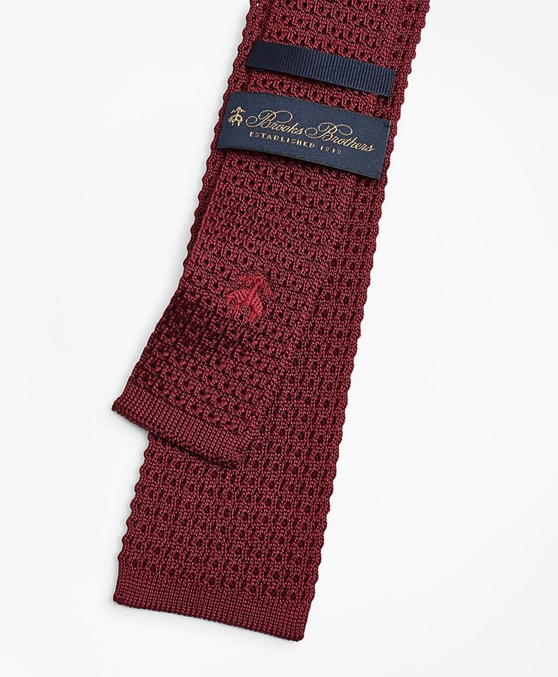Textured Knit Tie 썸네일 이미지 3