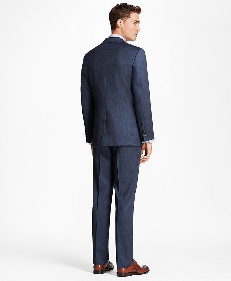 Regent Fit Screen Weave 1818 Suit 썸네일 이미지 3
