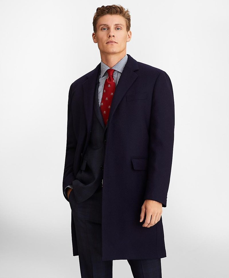 Single-Breasted Wool Topcoat 썸네일 이미지 3