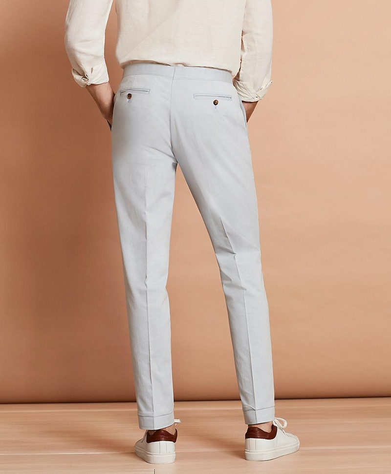Stretch-Cotton Trousers 썸네일 이미지 3