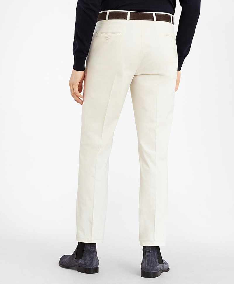 Regent Fit Supima® Cotton Trousers 썸네일 이미지 3