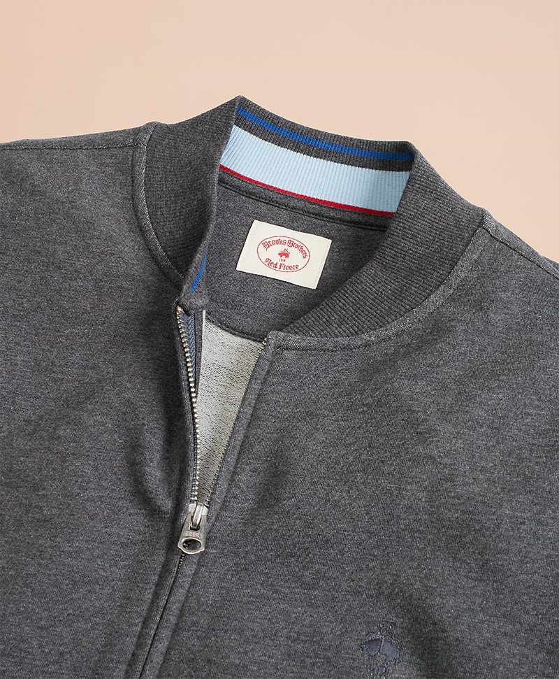French Terry Full-Zip Jacket 썸네일 이미지 3