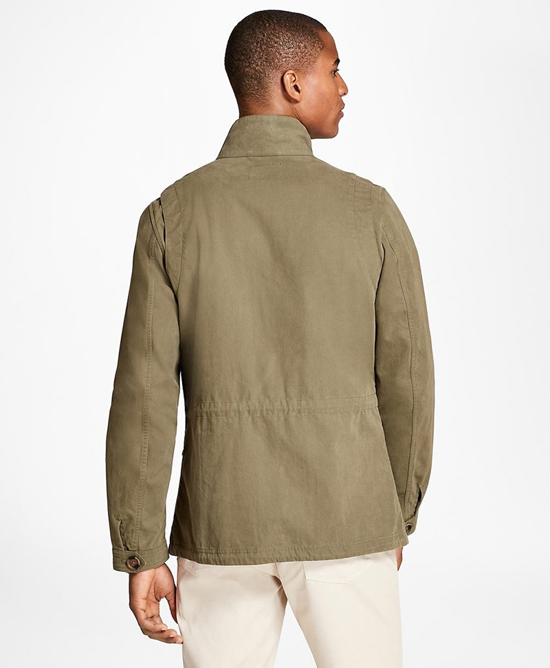 Washed Canvas Field Jacket 썸네일 이미지 3