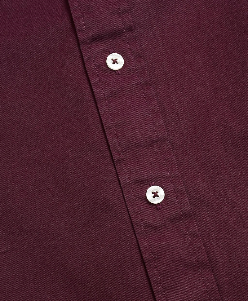 Regent Fit Garment-Dyed Twill Sport Shirt 썸네일 이미지 3
