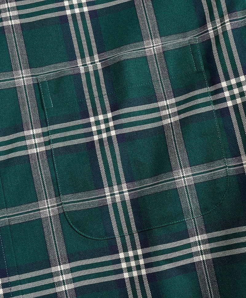 Non-Iron Regent Fit Signature Tartan Sport Shirt 썸네일 이미지 3