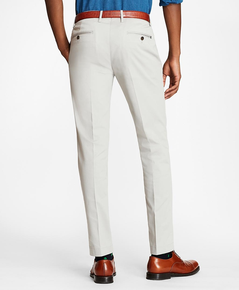 Soho Fit Textured Stretch Chinos 썸네일 이미지 3