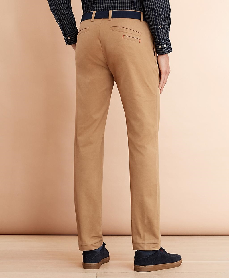 Pleat-Front Twill Chinos 썸네일 이미지 3