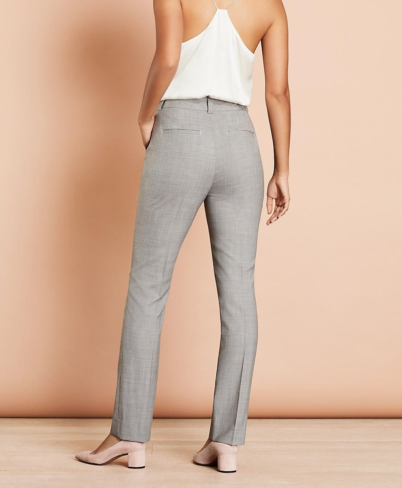 Pintucked Stretch Wool Pants 썸네일 이미지 3