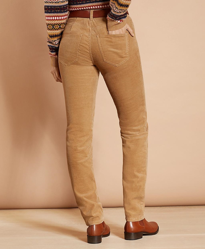 Stretch Corduroy Five-Pocket Pants 썸네일 이미지 3