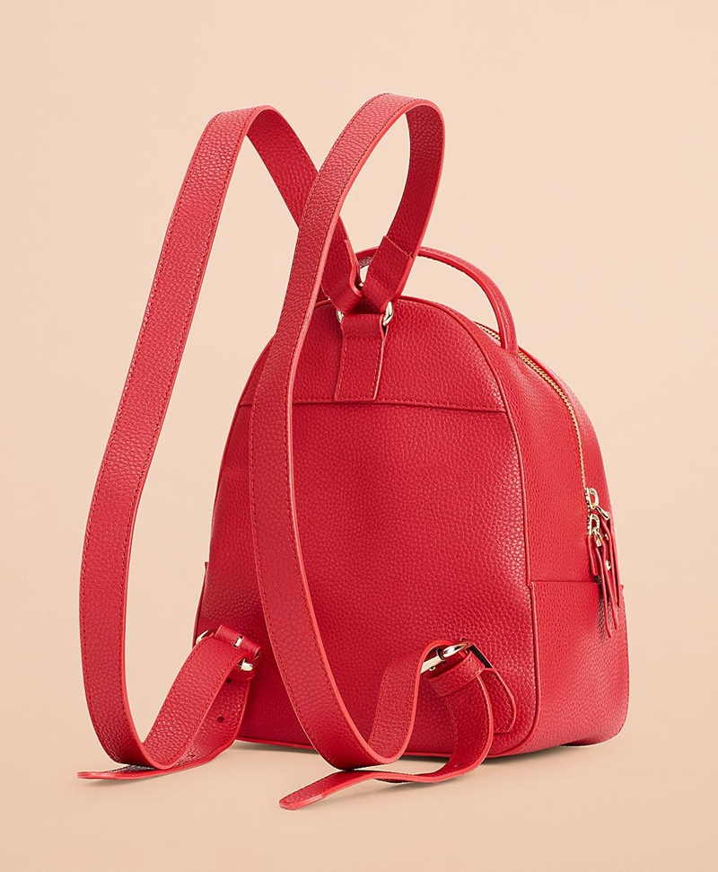 Pebbled Leather Backpack 썸네일 이미지 3