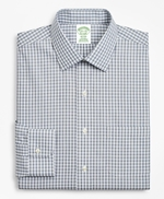 Milano Slim-Fit Dress Shirt, Non-Iron Check 썸네일 이미지 4