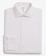 Stretch Milano Slim-Fit Dress Shirt, Non-Iron Stripe 썸네일 이미지 4