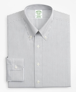 Milano Slim-Fit Dress Shirt, Non-Iron Stripe 썸네일 이미지 4