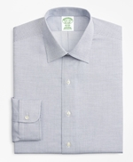 Milano Slim-Fit Dress Shirt, Non-Iron Micro-Check 썸네일 이미지 4