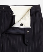 BrooksGate™ Regent-Fit Bead-Stripe Wool Twill Suit Pants 썸네일 이미지 4