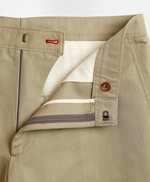 Linen-Blend Twill Trousers 썸네일 이미지 4