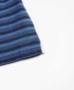 Slim Fit Cotton Jersey Stripe Polo Shirt 썸네일 이미지 4