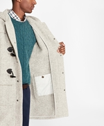 Textured Wool Duffle Coat 썸네일 이미지 4