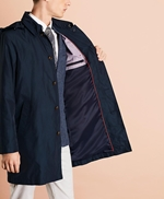 Water-Repellent Hooded Trench Coat 썸네일 이미지 4