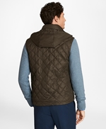 Diamond Quilted Vest 썸네일 이미지 4