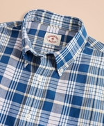 Madras Cotton Sport Shirt 썸네일 이미지 4