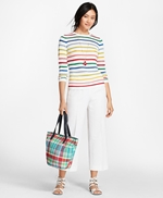 Shimmer-Stripe Sweater 썸네일 이미지 4