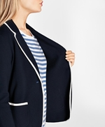 Supima® Cotton Knit Blazer 썸네일 이미지 4