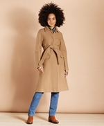 Water-Repellent Stretch-Wool Twill Trench Coat 썸네일 이미지 4