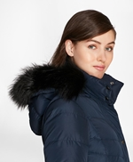 Fur-Trimmed Down Puffer Coat 썸네일 이미지 4
