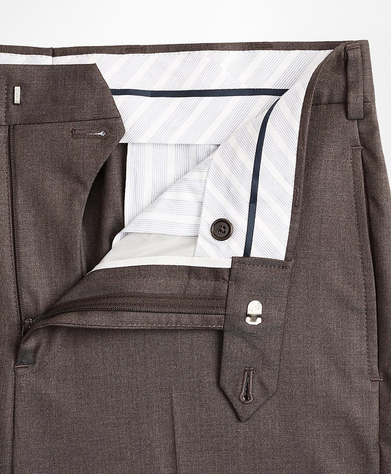 Regent Fit Wool Trousers 썸네일 이미지 4