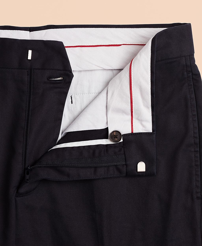 Stretch Cotton Twill Trousers 썸네일 이미지 4