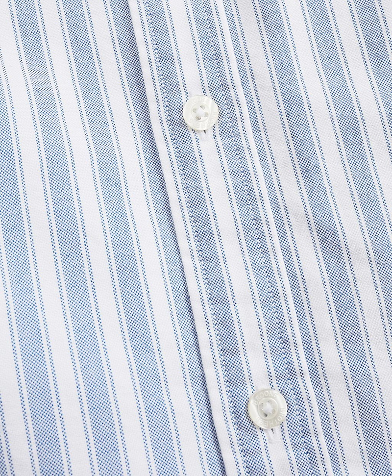 Striped Cotton Oxford Sport Shirt 썸네일 이미지 4