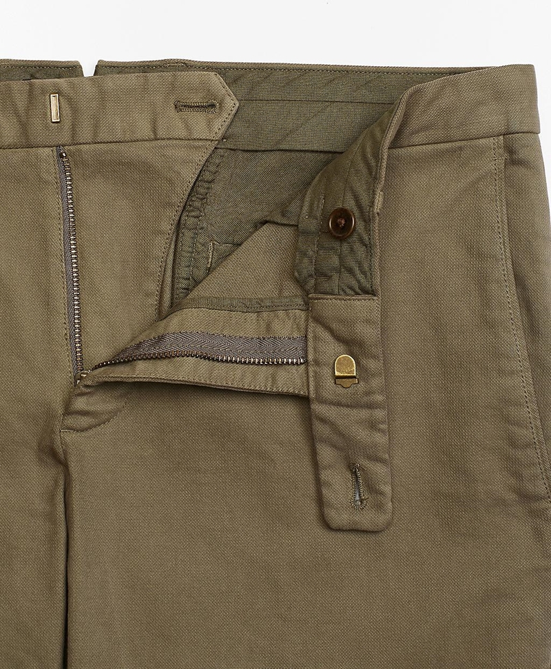 Garment-Dyed Stretch Broken Twill Chinos 썸네일 이미지 4